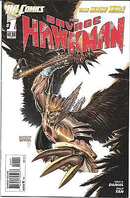 Savage Hawkman #1 (DC New 52)