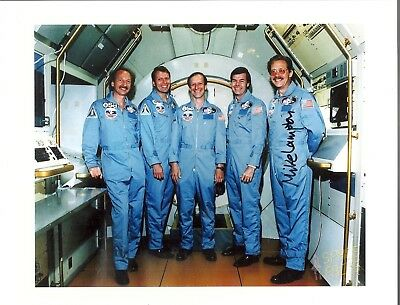 Autograph, Hand Signed,sts-61K Payload Specialist Astronaut; Mike Lampton