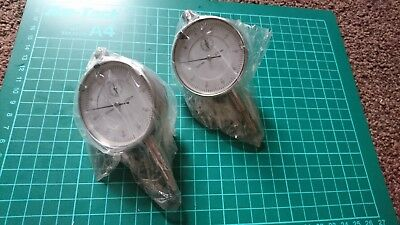 Lot 74 - 2 x New Dial Test indicator 0-10mm, 0.01mm resolution