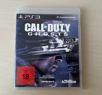PS3 Call of Duty - Ghosts ::: Hülle, OVP inkl. Inlays