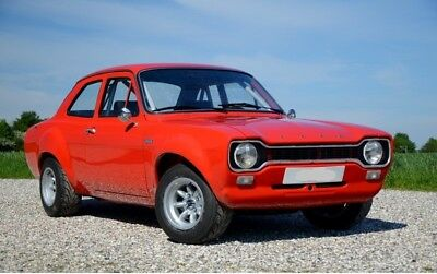 1972 Ford Escort RS1600 MK1 AVO BDA (Newly Restored), 1 of only 27 LHD