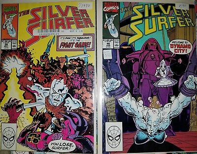 The Silver Surfer #39 & 40