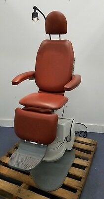 SMR MaxiSelect Model S270000 ENT Exam Chair w/ Solarlite Lamp