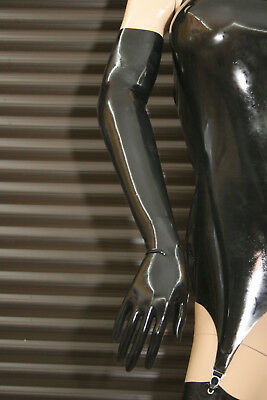 LATEXVERTRIEB - Latex Handschuhe lang - shoulder gloves