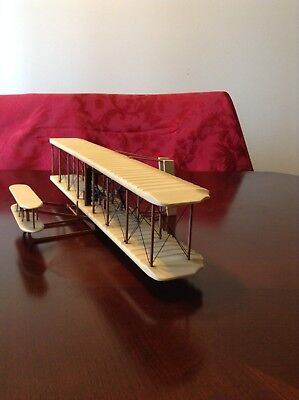 Wright Brothers Flyer Kitty Hawk Display Model 1/24 Plane- Great Condition