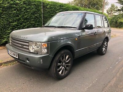 2003 (03) Land Rover Range Rover 3.0 Td6 Hse Auto Salvage Damaged Repairable