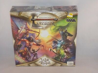 BERSERK War of the Realms Tactical Card Game Boardgame NIB sealed ()