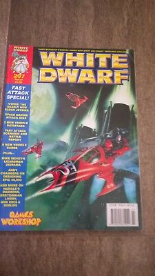 White Dwarf Issue 207 with Cards