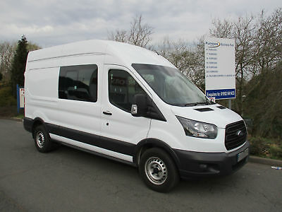 Ford Transit 350 L3 H3 2.0 130Ps *rare Automatic* Double Cab In Van+Air-Con
