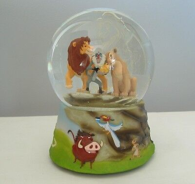 Disney the Lion King Snow Globe Musical Sankyo 1994 Circle of Life