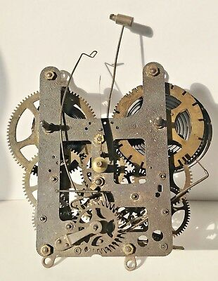 Untested Antique William Gilbert American Clock Movement