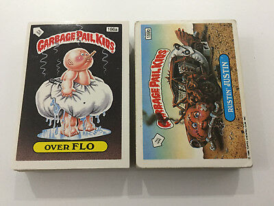 1988 UK Garbage Pail Kids 6th Series COMPLETE Set