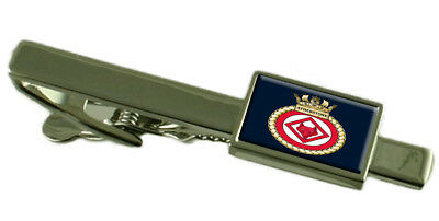 Royal Navy HMS Atherstone Tie Clip Engraved