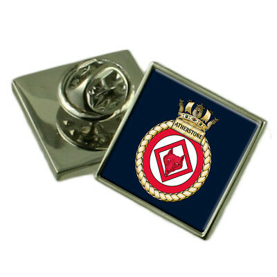 Royal Navy HMS Atherstone Lapel Pin Badge
