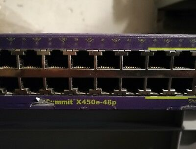 Extreme Networks Summit X450e-48p