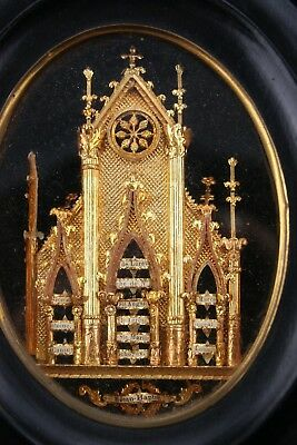 † 19Th Cathedral Reliquary Bvm, Dnjc, John, Anthony, Louis 13 Relics 1St Class †