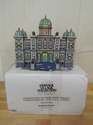 Department 56 Christmas In The City The Capitol Heritage Village Building 1997
