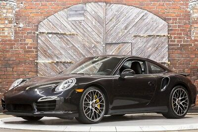 Porsche 911 Turbo S 991 PDK Coupe 14 560 hp Burmester Audio Glass Sunroof Power Steering Plus Multifunction Wheel