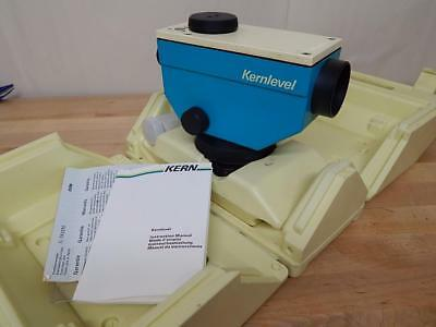 Kern Level Theodolite Survey Equipment Surveyor Construction w. Case