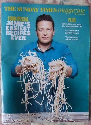 THE SUNDAY TIMES MAGAZINE - JAMIE OLIVER + THE DISH SPECIAL - 6th AUGUST 2017