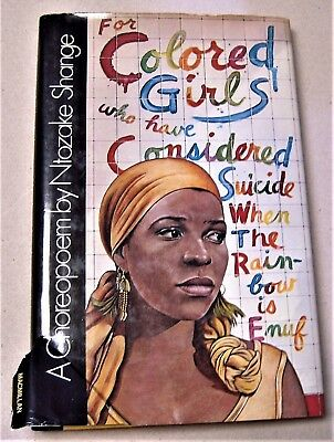 for colored girls who have considered suicide... by Ntozake Shange FIRST EDITION