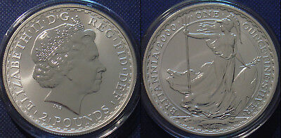 2000  Silver Britannia £2 Encapsulated