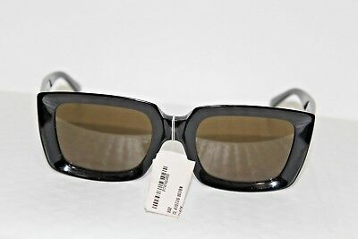 5352a23f649 Celine Women s CL41449S CL 41449 S 807 70 Black Square Sunglasses 55mm NEW
