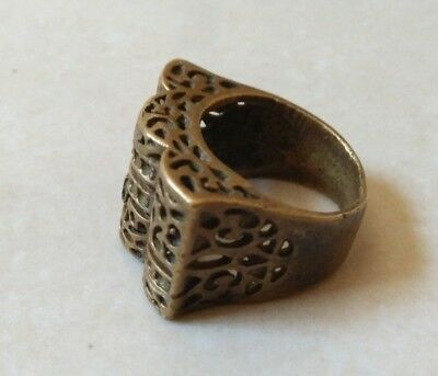 rare ancient bronze ring roman artifact bronze ring authentic