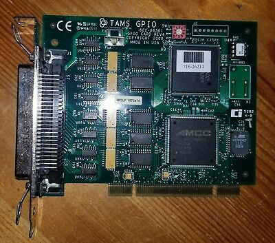 TAMS 622-66501 Rev 4 GPIO PCI Card