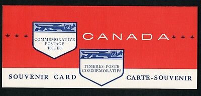 Weeda Canada VF 1963 Annual Souvenir Card #5, VF condition CV $7.50