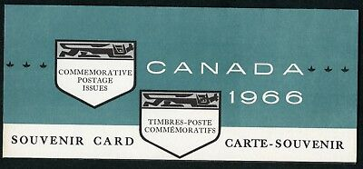 Weeda Canada VF 1966 Annual Souvenir Card #8, VF condition CV $7.50