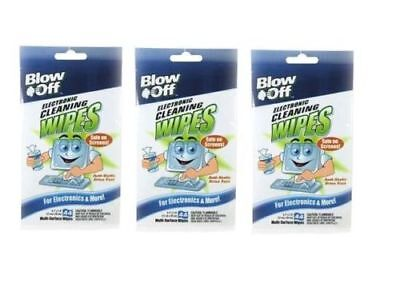 Blow Off Electronic Cleaning 132 Wipes WPB44-2644 for LCD Plasma TV Screens