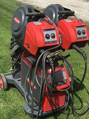 Fronius 320i Welder And Dual Wire-drives