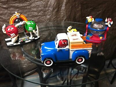 Small Collection m&m Candy Dispenser Toys