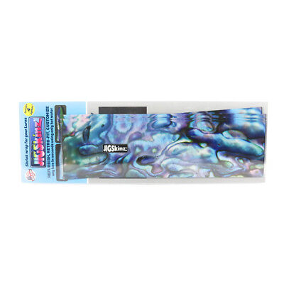 JZABB-XL4 Abalone Blue 230 x 130mm x 4 pieces X-Large (3213) jigskinz