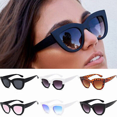 Popular Women Ladies Cat Eye Retro Vintage Style Rockabilly Sunglasses Eyewear