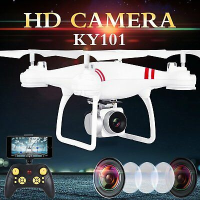 UK Wide Angle Lens Camera Quadcopter RC 2.4GHz Drone WiFi FPV Helicopter Hover