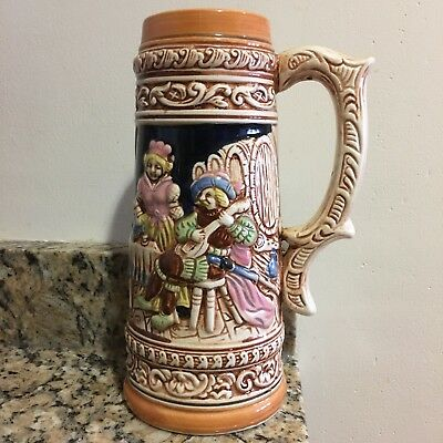Gerz West German .5L beer mugs steins lot