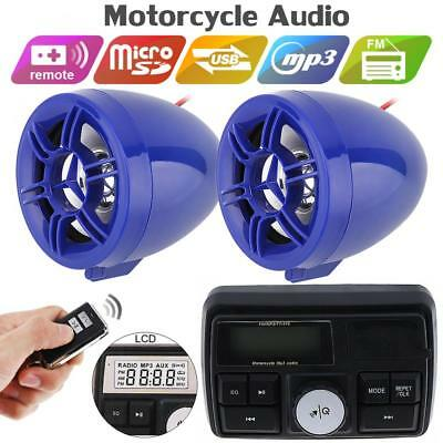 12V 50W Anti-theft Sound MP3 Player with Display Screen for Motorcycle Alarm
