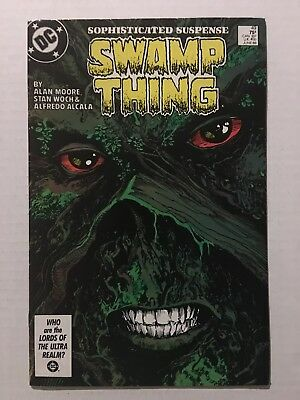 SWAMP THING #49; Nice Copy! 1st JL Dark; 12 Closeup Pics; 2 Available