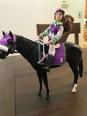 Breyer collectible horse and jockey
