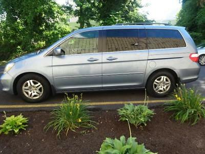 2007 Honda Odyssey EX-L  w/RES Odyssey EX-L  w/RES LEATHER TV/ DVD SUNROOF NEW TIMING BELT AND ALL TENSIONERS