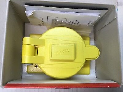Pass & Seymour 7770 Protective Cover For Locking Receptacle