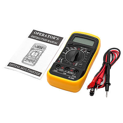 LCD Digital Multimeter Back Ground Light AC DC Voltmeter Ohmmeter Multi Tester -