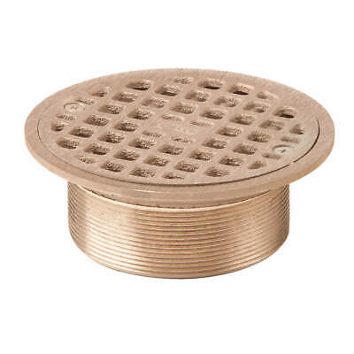 JAY R. SMITH MFG. CO Floor Drain Strainer,Round,6In Dia, A06NB