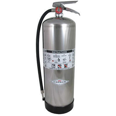 AMEREX Fire Extinguisher,Water Fire,A,2A, 240