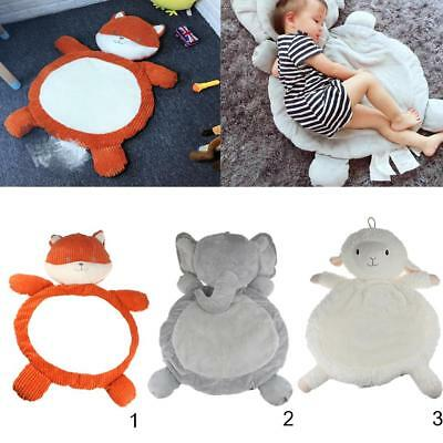 Kids Animal Pattern Mat Child Toddler Cotton Mat Pad Play Toy Cushion Cozy Mat
