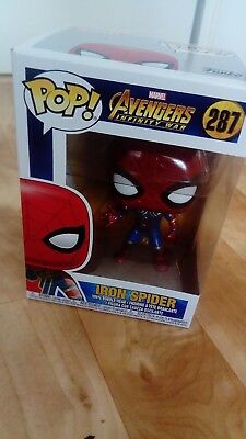 Funko Pop Avengers Invinity War Iron Spider