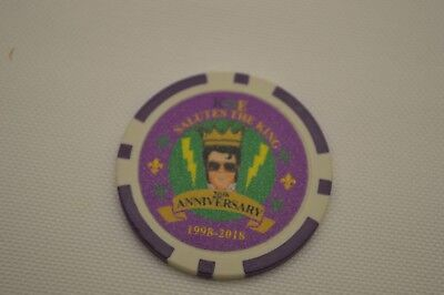 Krewe of Elvis New Orleans Mardi Gras 2018 Poker Chip Doubloon