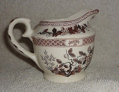 Vtg NASCO Indian Tree  Creamer small demitasse